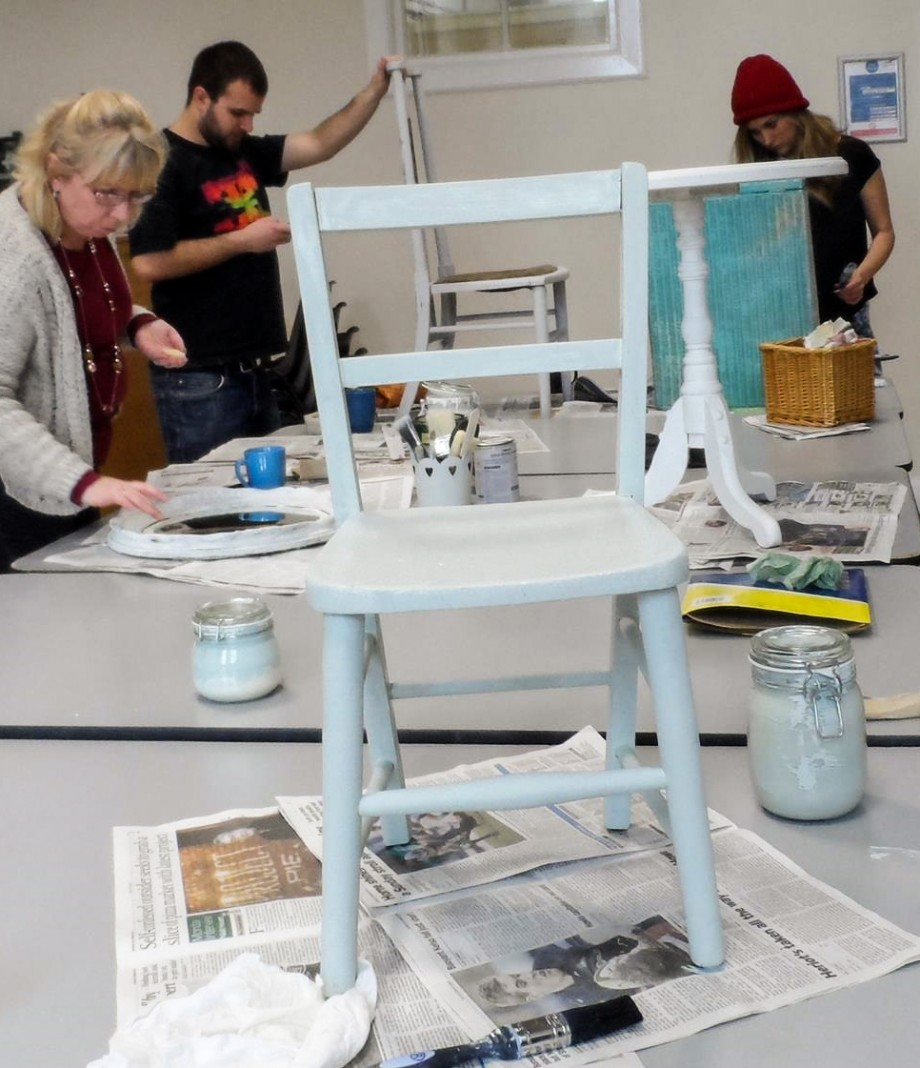 Little school chair project at Redesign Network workshop