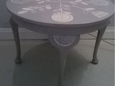 Upcycled Round Table