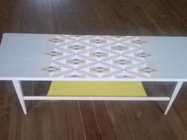 Upcycled Retro Coffee Table